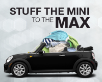 Stuff the MINI to the MAX Winter Clothing Drive in Hartford, CT